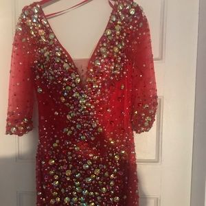 Embellished Jovani Dress